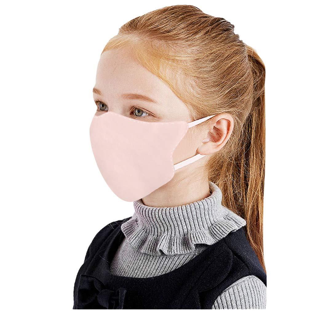 Unisex 10 Pcs Reusable Cotton Face Bandana, Washable Dust Face Covering, Designer Pattern Face Bandana, Breathable, Dustproof, Comfortable for Kids