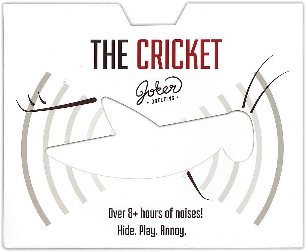 Joker Cricket Prank - Hide Adhesive Card Then Watch Victim Try to Find Sound