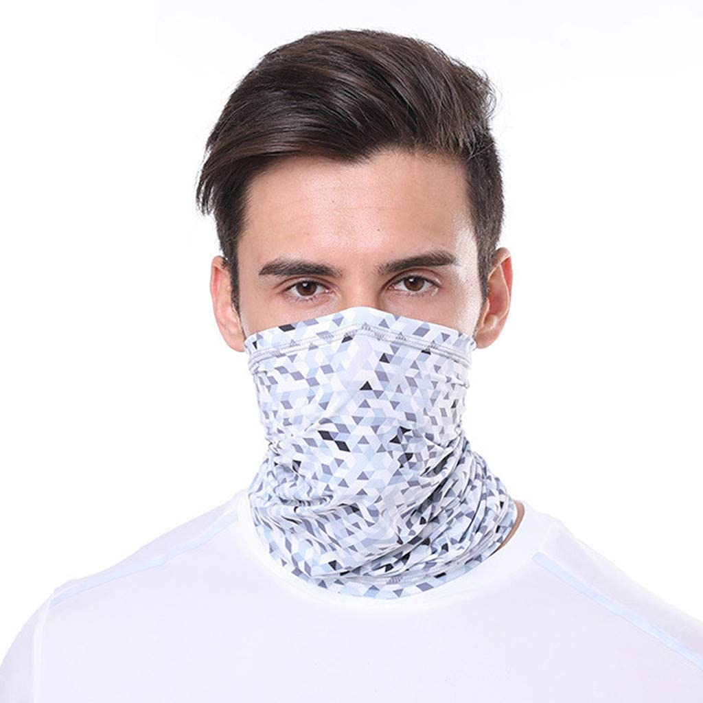 1PC Reusable Breathable Funny Printed Cycling Fashion Adult Washable Neck Bandana Motorcycle Sport Cloth Face_Mask Scarf