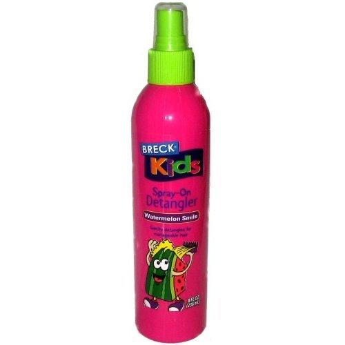 Breck Kids Spray-On Detangler ~ Watermelon Smile ~ 8 fl. oz. (236 ml) by BREK