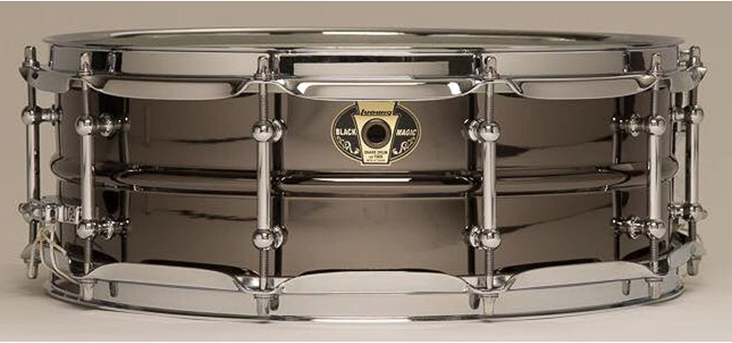 Ludwig Black Magic Snare Drum - 5.5 Inches X 14 Inches