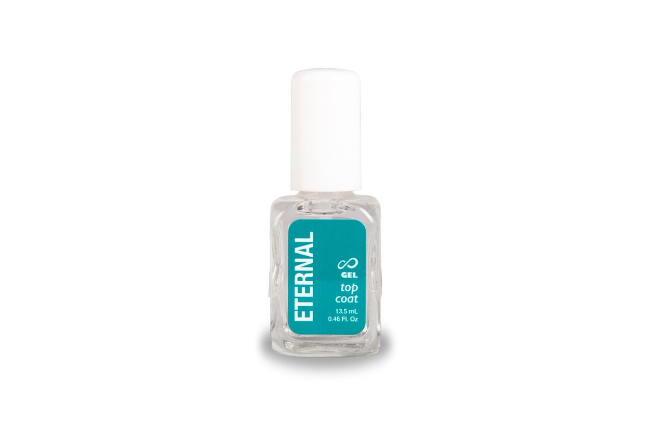 Eternal Top Coat Gel – Mirror Shine Strength No UV Lamp Nail Polish – 1 Unit
