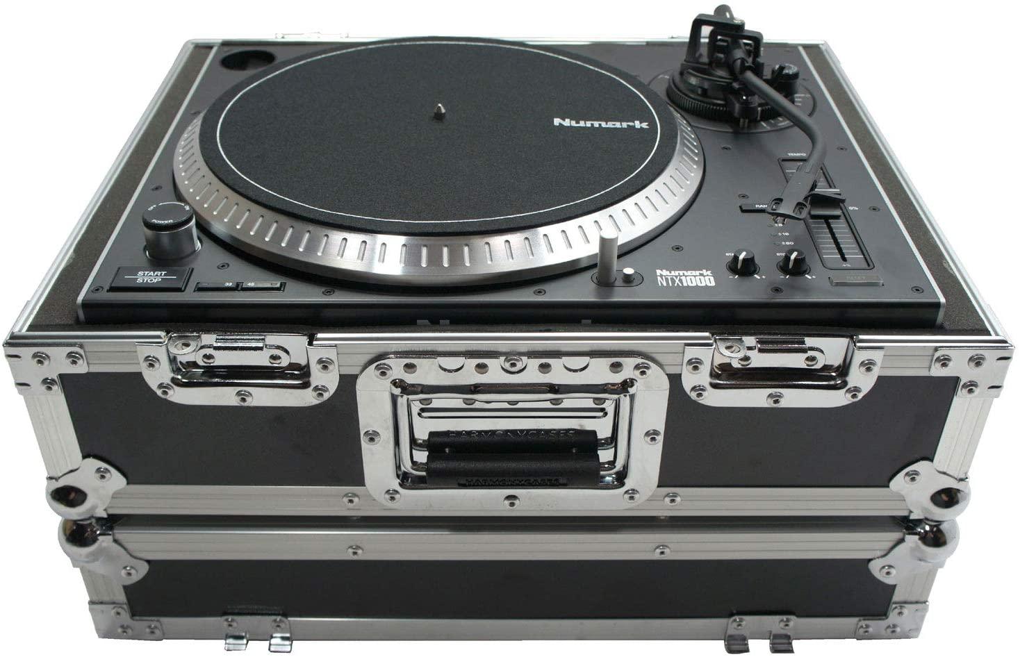 Harmony Cases HC1200BMKII Flight Foam Lined DJ Turntable 1200 Road Custom Case