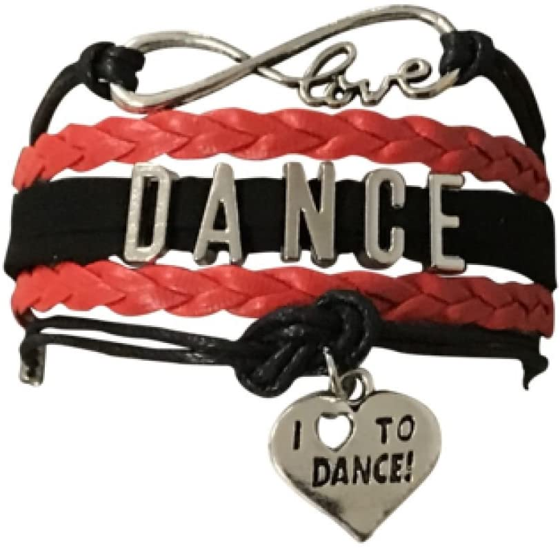 Infinity Collection Dance Bracelet- Girls Dance Jewelry for Dance Recitals, Dancers and Dance Teams