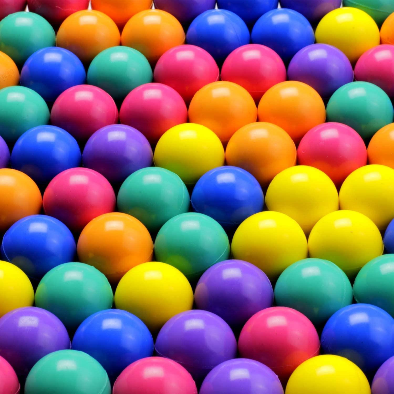 Entervending 100pcs Bouncy Balls Bulk 25mm 1