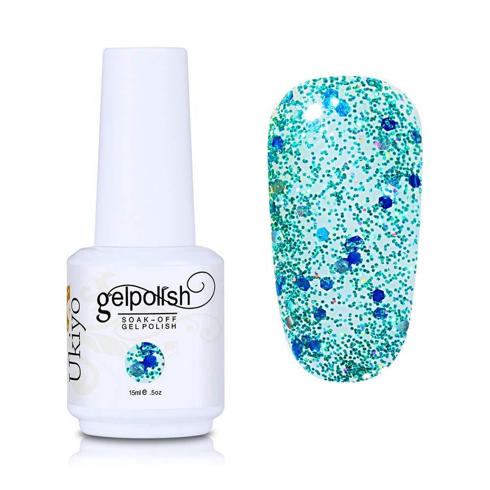 Nail Polish Glitter Gel Nail Polish Absorptive Gel Varnish Diamond Nail Polish Semi-Permanent Gel Oil (GC057)