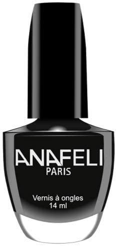 Anafeli Paris Nail Polish Lacquer Elegant No 51 Black