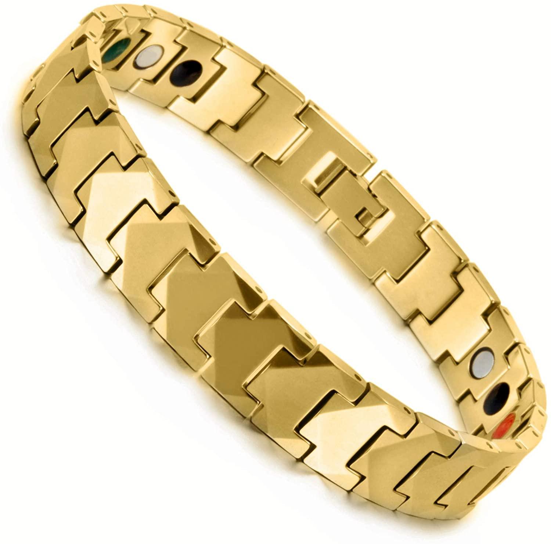 Wollet Magnetic Tungsten Bracelet for Men
