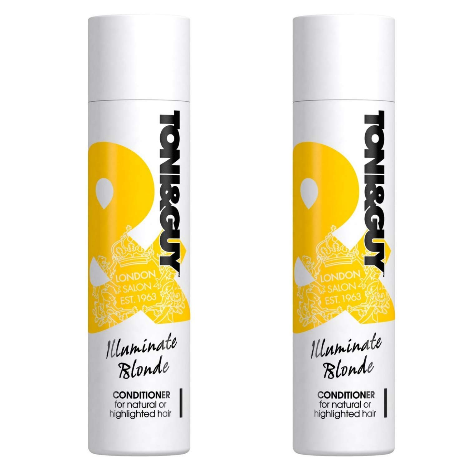 Toni & Guy Women's Illuminate Blonde Conditioner with Pearl Extract - 8.5 Fl Oz / 250 mL x 2 Pack
