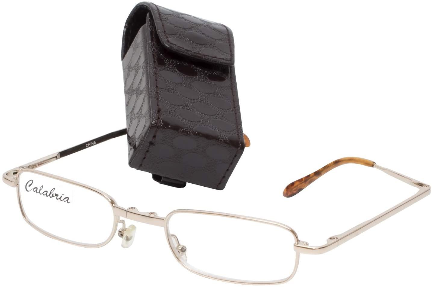 Calabria Folding Reading Glasses +1.75 power