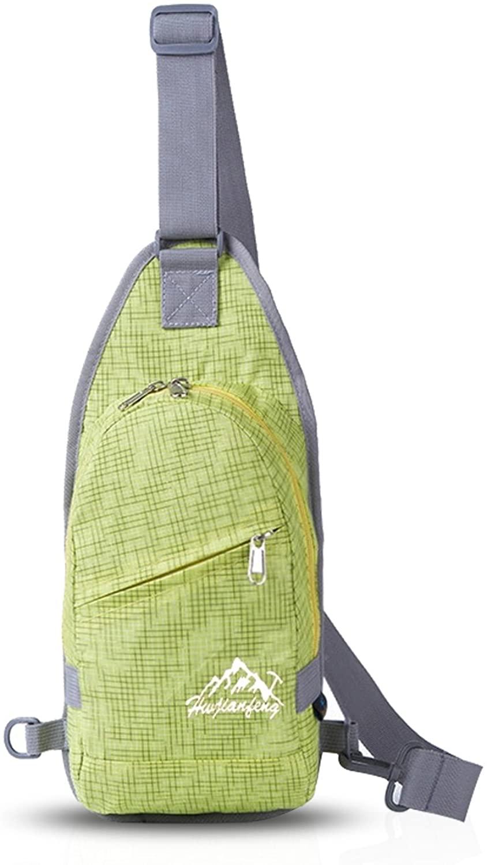 FANDARE Sling Bag Messenger Bag Chest Shoulder Backpack Satchel Travel Outdoor Bike Polyester
