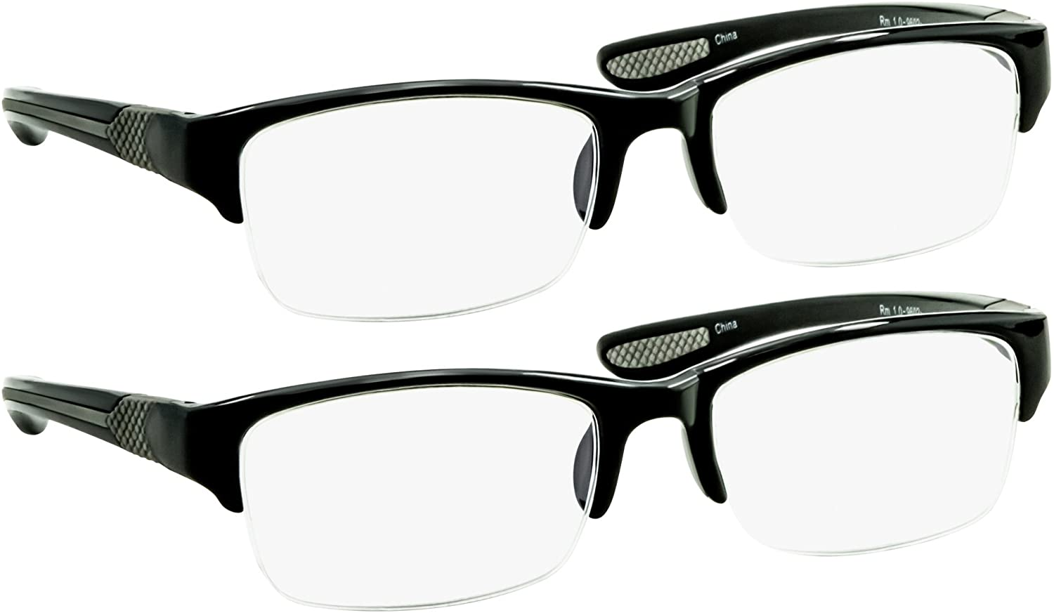 Black Computer Reading Glasses 3.50 Protect Your Eyes Against Eye Strain, Fatigue and Dry Eyes from Digital Gear with Anti Blue Light, Anti UV, Anti Glare, and are Anti Reflective