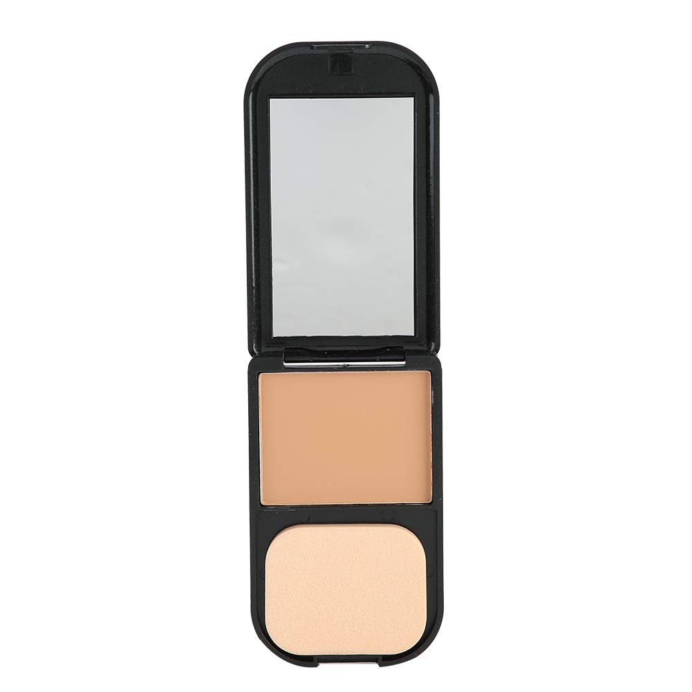 Pressed Powder - Face Foundation Powder, Waterproof Makeup Whitening Face Foundation, Bronzer Contour, 5 Colors (Color : 07#)