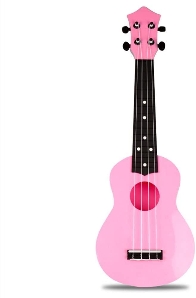 Ukulele Musical Instrument (21 inch, Pink)