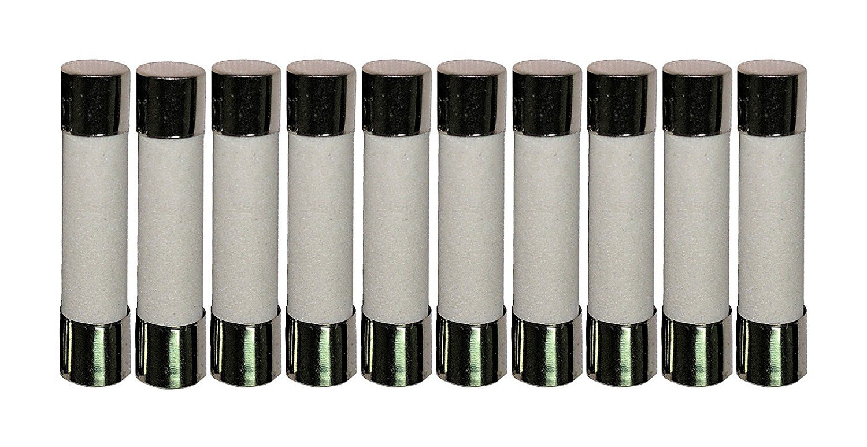 10 Qty. Divine Lighting ABC 200mA Fast-Blow Ceramic Fuse 250v ABC200mA ABC 200mA Fast-Blow Fuse (Also 3AB). Ceramic 1/4 in x 1.25 in