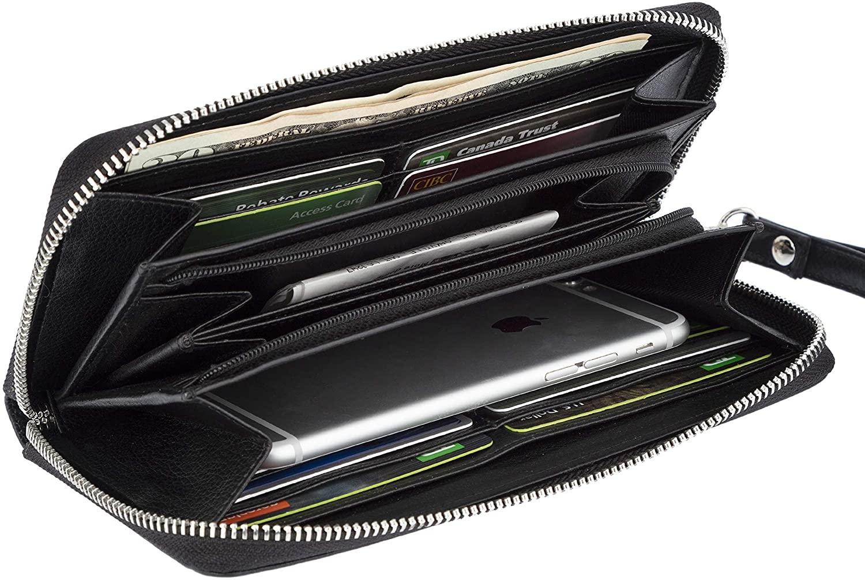RFID Blocking Evening Bag Clutch Purse (Croco Pattern) Handbag for Women SD 012