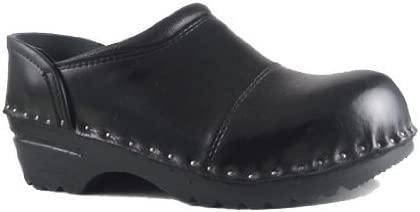 Troentorp Unisex Båstad Steel Toe Picasso Leather Clogs