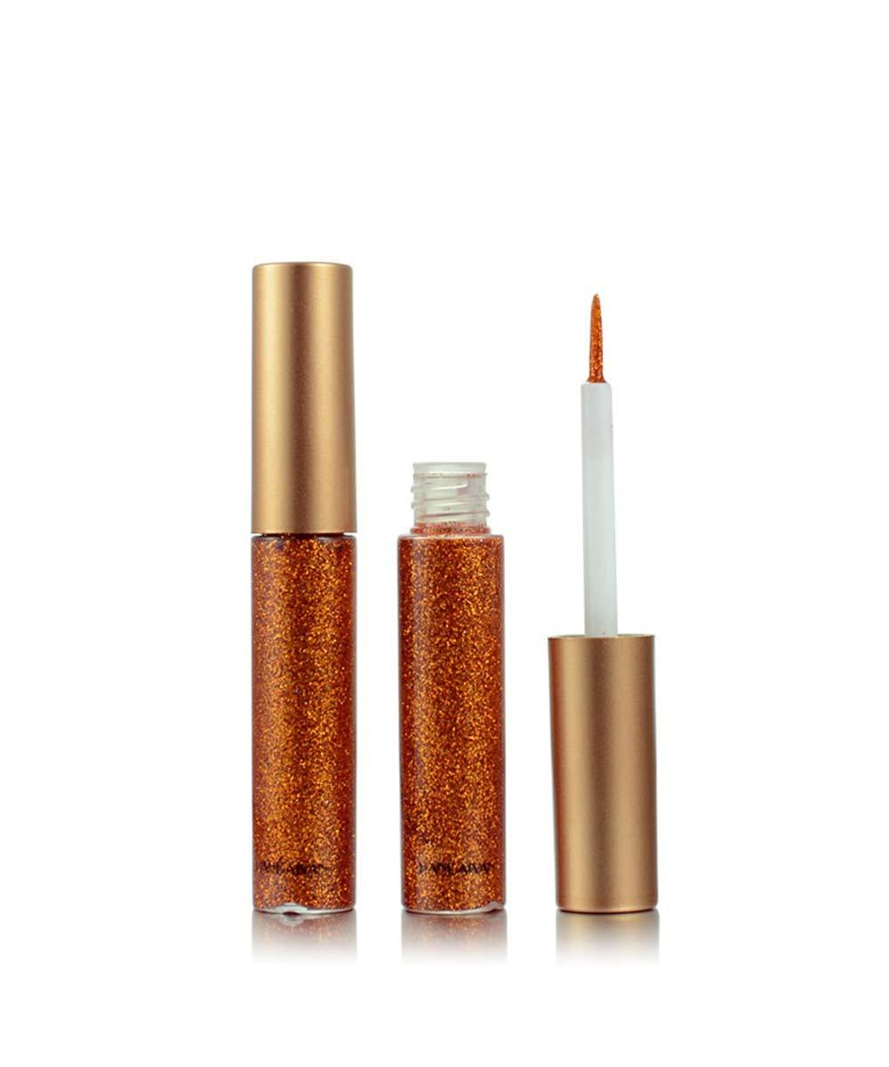 10 pcs Liquid eyeliner set Glitter Liquid Eyeliner Waterproof Shimmer Silver Gold Metallic Colorful Eyeliners Eyeshadow Makeup