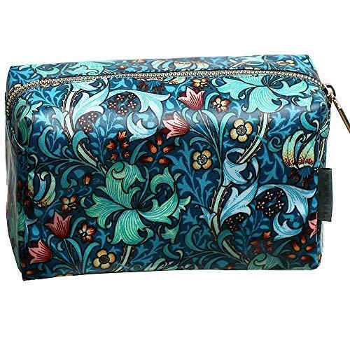 Portable Toiletry Bag for Women Cosmetic Travel Bag Floral Cosmetic Case Waterproof Travel Toiletry Bag for Girls Make Up Bag Reusable Toiletry Bag JIURUN