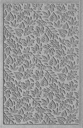 American Floor Mats Waterhog Fall Day Designer Medium Grey 2' x 3' Entrance Floor Mat with Gripper Backing