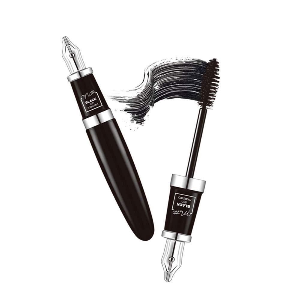 Waterproof Mascara, 7.5g Eyelash Mascara Long-lasting Lengthening & Volumizing Eye Comestic Tool