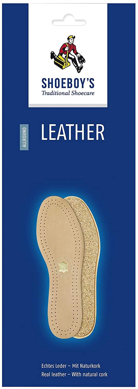 Shoeboy's Women's/Men's Leather Insoles, 1 CT