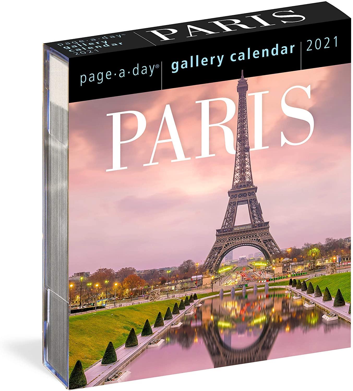 Paris Page-A-Day Gallery Calendar 2021 [6.25