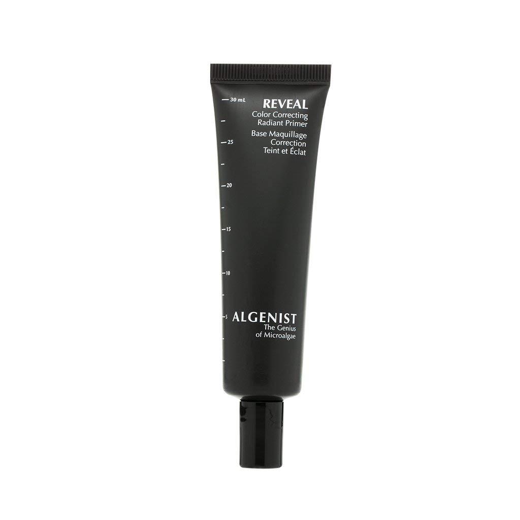 Algenist REVEAL Color Correcting Radiant Primer - Tinted Priming Treatment with Microalgae Oil & Vitamin E for Improving Skin Tone & Makeup Prepping - Non-Comedogenic & Hypoallergenic (30ml / 1oz)