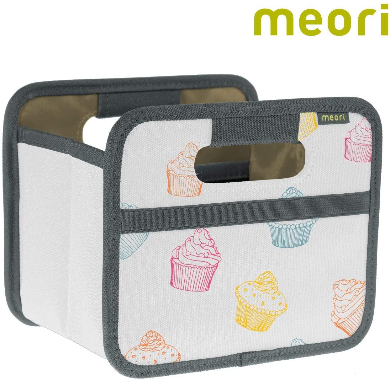 meori Mini Foldable Storage Box, 1-Pack, Cupcake