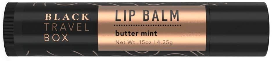 BlackTravelBox Lip Balm – 0.15 Ounce / 4.25 Gram