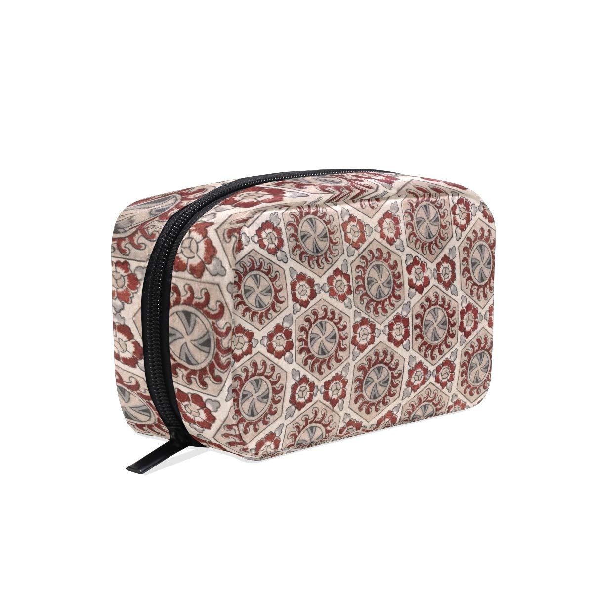 Cosmetic Bag Makeup Bag Brush Organizer Hanging Bohemian Cosmetic Makeup Bag for Travel Home