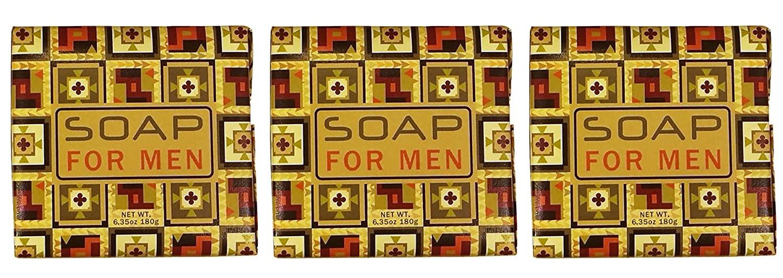 Greenwich Bay Soap Bar for Men, Shea Butter Moisturizing Bar, Men Natural Bath Soap