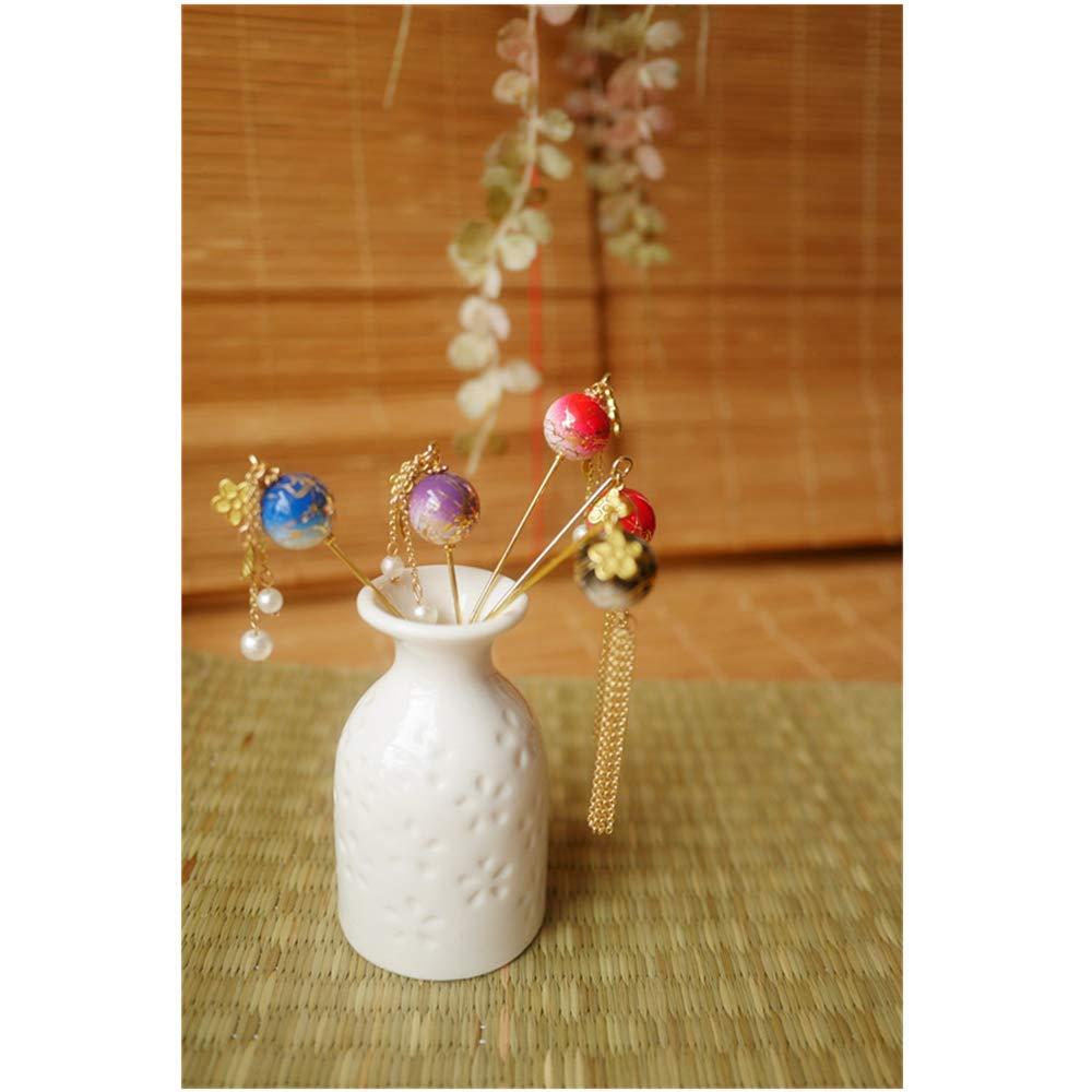 Hairpin Wind Hand made for Kimono Hanfu Cheongsam Accessories Hair claw Hair clip Flower Style