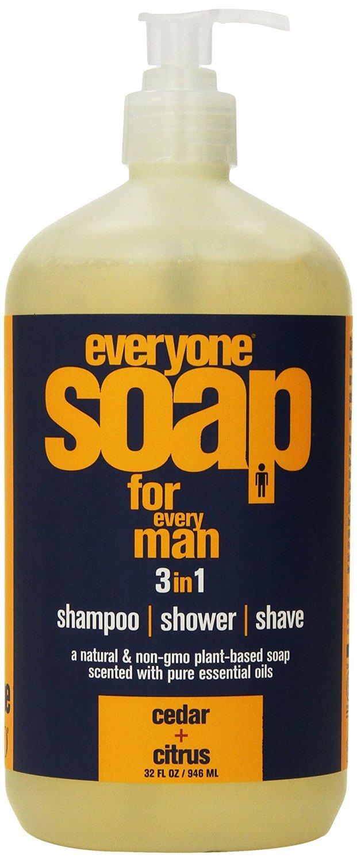 Eo Products Everyone Soap for Men, Cedar/Citrus, 32 Ounce