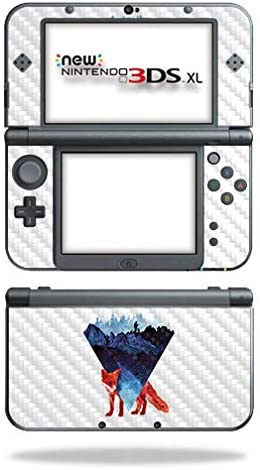 MightySkins Carbon Fiber Skin for Nintendo New 3DS XL (2015) - Risky Road | Protective, Durable Textured Carbon Fiber Finish | Easy to Apply, Remove, and Change Styles | Made in The USA