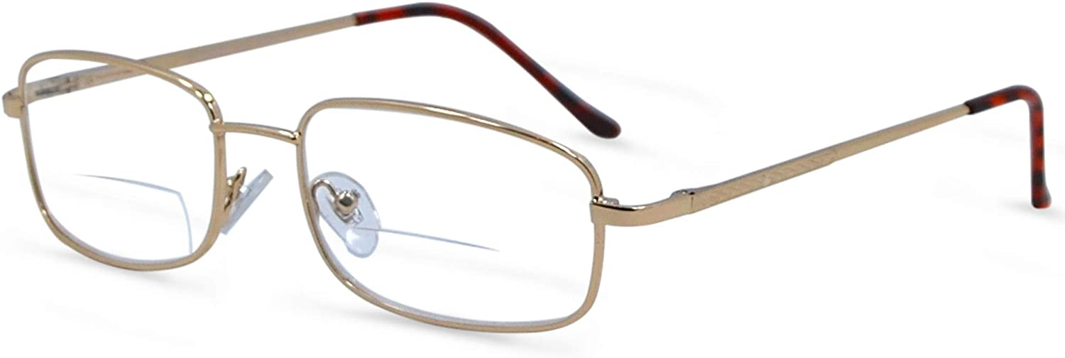 In Style Eyes Enda Middle BiFocal Reading Glasses Look Smart and Give You Flexibilty