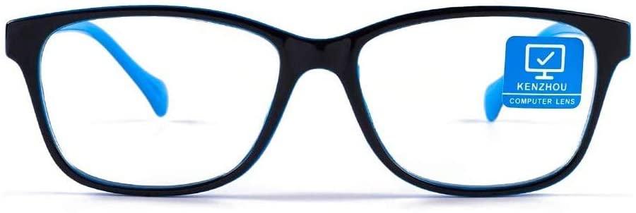 Blue Light Blocking Computer Glasses 1 Pack Decrease Eye Eyestrain Unisex(Men/Women)