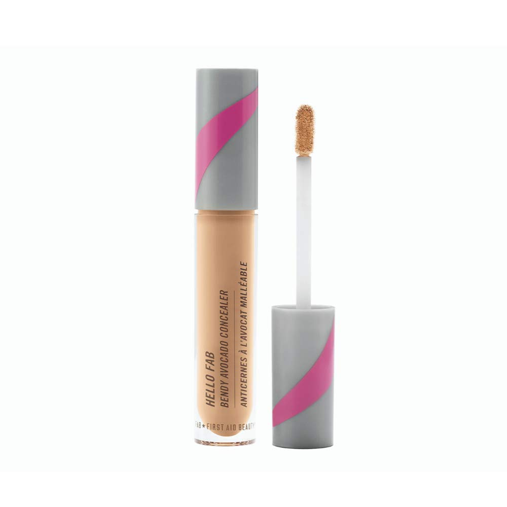First Aid Beauty Bendy Avocado Concealer: Vegan Under Eye Concealer for Dark Circles, Blemishes, and Redness. Concealer Makeup with Avocado for Natural Finish (Fa) 0.17 ozir