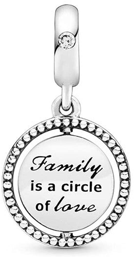 MiniJewelry Tree of Life Family Charm for Bracelets Sterling Silver Charm Bead for Pandora Bracelets Sister Granddaughter Mom Gift