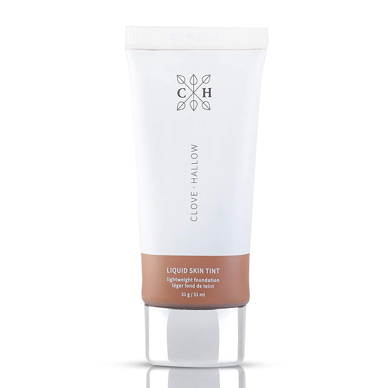 CLOVE + HALLOW Liquid Skin Tint Liquid Foundation Organic Makeup-11