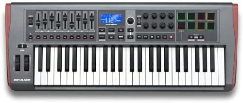 Novation IMPULSE-49 USB/MIDI Controller-49 Keys