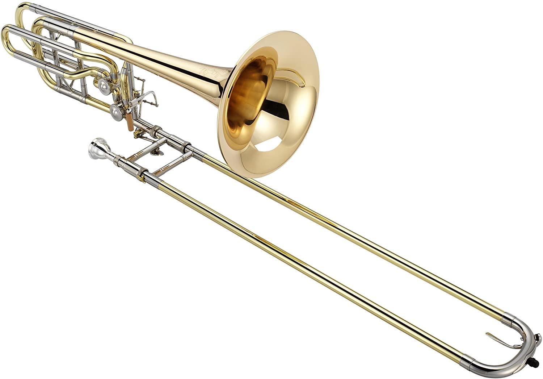Jupiter XO Model Professional Bass Trombone with Rose Brass Bell 1242RL
