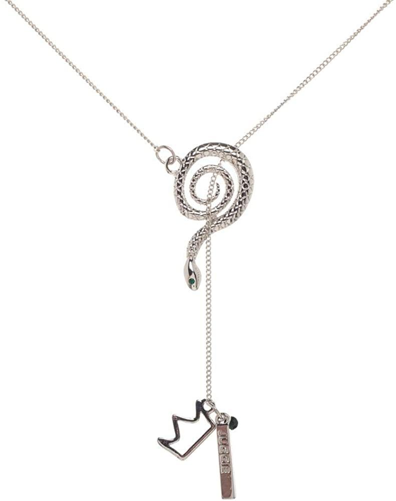 Riverdale Serpent Lariat Charm Necklace
