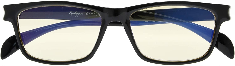 Blue Light Blocking,Reduce Eyestrain,UV Protection,Computer Reading Gaming Glasses Unisex