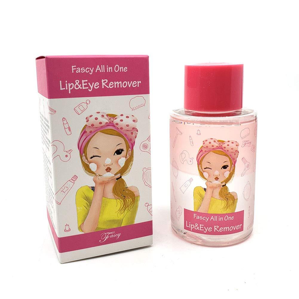 The Elixir Beauty Fascy Korean Cosmetics Waterproof Lip & Eye Makeup Remover, Makeup Remover for Eyes & Lips, Cleanser for Sensitive Eyes, Removes Waterproof Mascara, 120ml