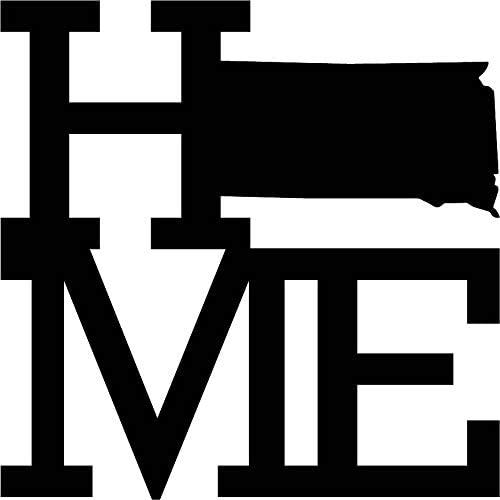 Home State South Dakota Raw Metal Wall Art, Home Decor