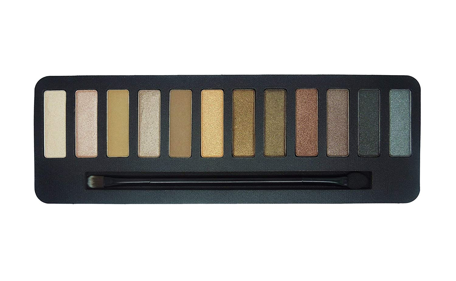 W7 | Lightly Toasted Highly Pigmented Eyeshadow Palette | 12 Long Lasting and Highly Pigmented Shades from Nudes to Coppers and Golds