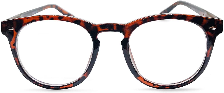 Brooklyn Large Round Bifocal Reading Glasses Set