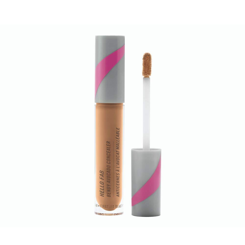 First Aid Beauty Bendy Avocado Concealer: Vegan Under Eye Concealer for Dark Circles, Blemishes, and Redness. Concealer Makeup with Avocado for Natural Finish (Medium) 0.17 oz