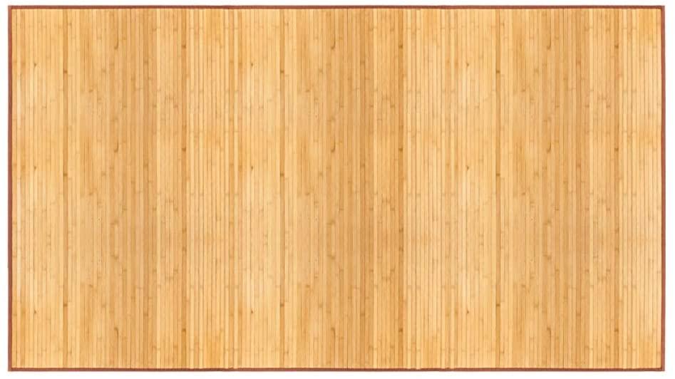 (US Stock) Oriental Bamboo Blanket Bed Mats, 100% Natural Material, Full Size Non-Slid Waterproof Bamboo Floor Mat, Elegant Handcraft Area Rug for Bedroom & Hallway. (XXL (5 x 8 ft), Bamboo)